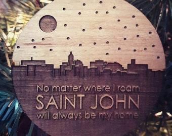 Saint John Skyline Ornament