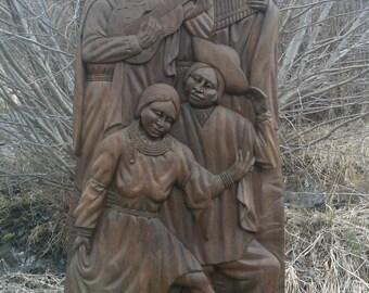Louis Potosi, Ecuadorian Wood Carving