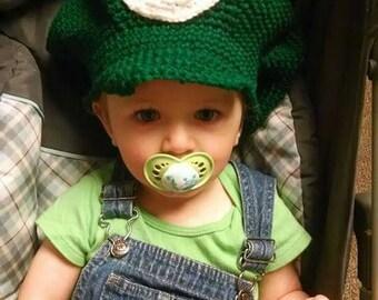 Crochet mario/Luigi hats