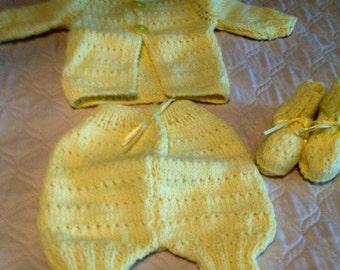 Yellow BB set
