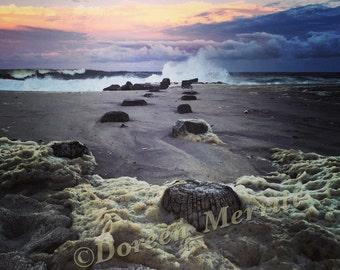 Jersey Shore Storm 8x10 Photo~Hermine Sunset