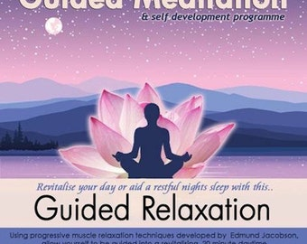 Guided Relaxation, Guided Meditation and Relaxation CD