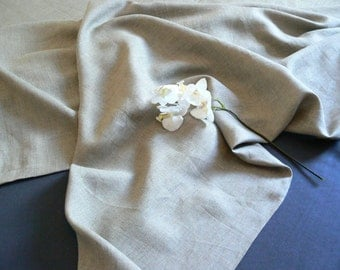 Linen  blanket, natural linen summer blanket, linen throw, top sheet,  natural linen bedding, linen coverlet,