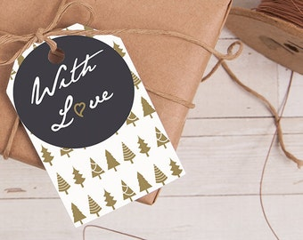 Give the Perfect Gift - Winter Tags Set