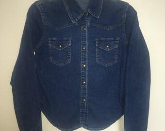 Jean Shirt Jacket