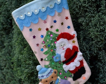 Personalized Christmas stocking, Christmas decorations, Christmas stocking, Christmas sock, Christmas Boot, Christmas Boot Present