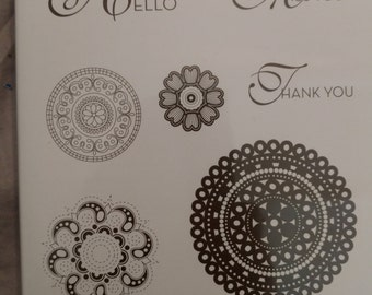 Stampin Up Stamp Set Lacy and Lovely Set of 7