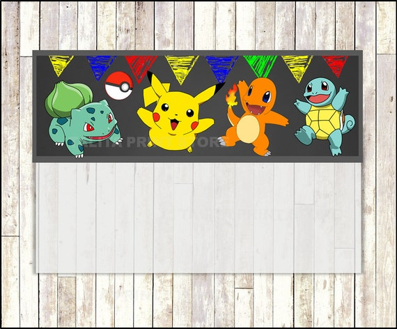 pokemon bag toppers