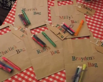 Personalised Activity Bag