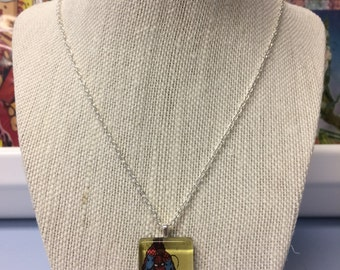 """Upcycled """"Spidey"""" Necklace"""