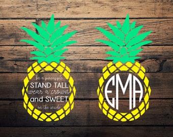 Pineapple SVG & JPG