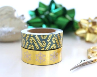Jolly Christmas || washi tape set