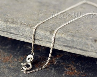 925 Silver chain necklace ladies jewelry 925 Silver Chain gift 164