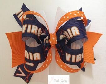Virginia Cavaliers Bow, Virgina Bow, Cavaliers Bow