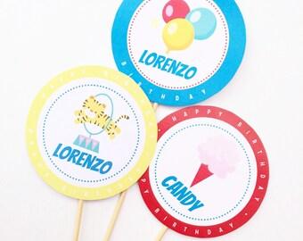 Set 10 CircusParty Gadgets