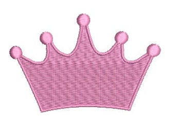 Princess Tiara EMBROIDERY Design Princess Crown Embroidery Design Machine Embroidery Instant Download ER370F