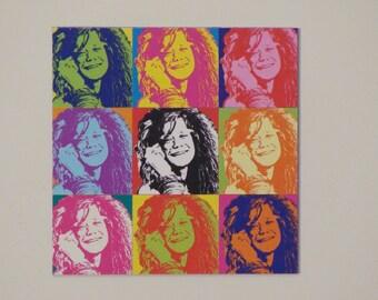 Janis Joplin magnet