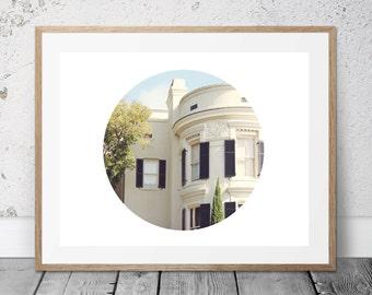 Historic House Photograph, Charleston, Digital Photo, Southern Charm
