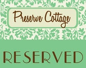 Reserved Antique Letterpress Wood Type Printers Block