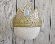 Rapunzel Tangled Inspired Crown/Tiara for Kids and Adults
