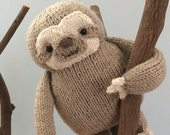 Amigurumi Knit Sloth Pattern Digital Download