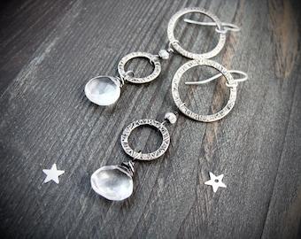cascade ... sterling silver dangles