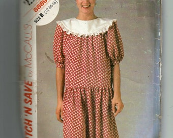 McCall's Misses' Dress Pattern 8889