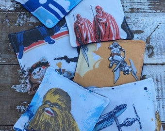 30% OFF SUPER SALE- Vintage Star Wars Bean Bags-For the Little Man in Your Life