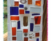 Auburn Tiger   Inspired Mosaic Wall Switch Plate cover Paw  WAR EAGLE