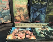 Harry Potter scrabble letters sign