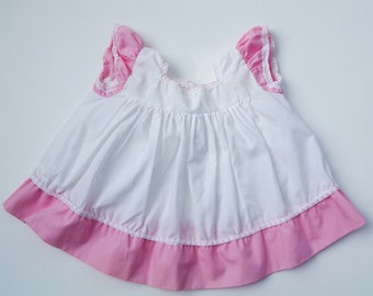 Sweet little girl's pink and white Dress