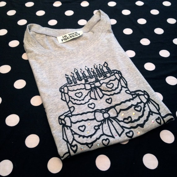 Heather Grey Cake T-Shirt