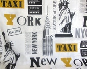 Fabric New York City  - Home Decorator or Tote
