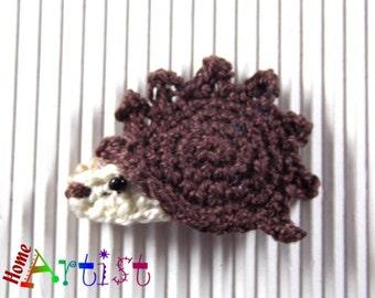 Hair clip Hedgehog