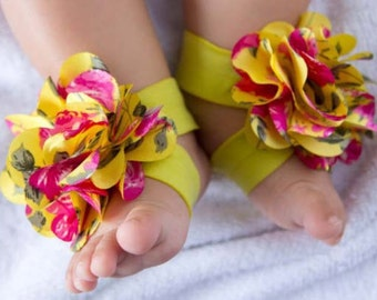 Barefoot Baby Sandals Pattern - Infant Barefoot Sandals Tutorial - Make Your Own Barefoot Baby Sandals Tutorial