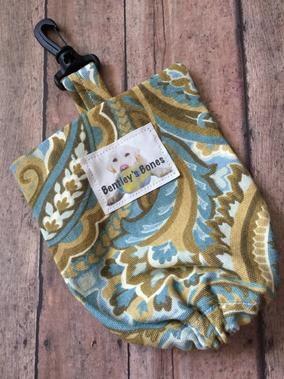 Doggie Leash Bag - The Country Time - Limited Edition