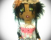 Lady Batistse Swamp Witch handsewn by Kook Teflon