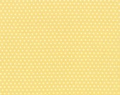 Strawberry Fields Revisited - Polka Dot in Butter (yellow): sku 20262-15 cotton quilting fabric by Fig Tree and Co for Moda Fabrics - 1 yard