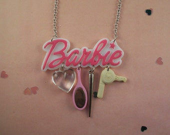 Barbie Charm Necklace