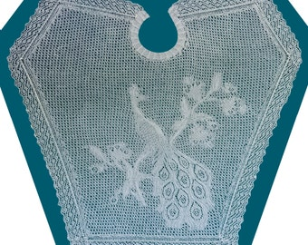 Lace Peacock Shawl
