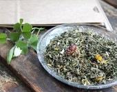 Spring Equinox Seasonal Herbal Tea - Ostara - Loose Leaf or Single Serving Bags