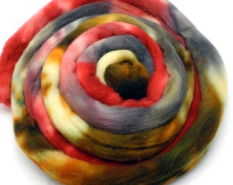 Fred Hand Dye Spinning Fiber Pop Culture Fiber - Roving Dyed to Order
