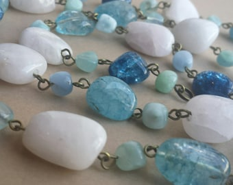 Carribean Clear Waters Necklace