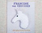 Francine the Unicorn Stitchin' Kit