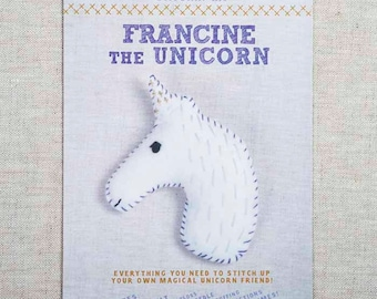 Francine the Unicorn Stitchin' Kit