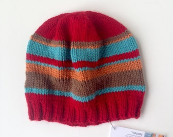 Red Stripe Child Beanie