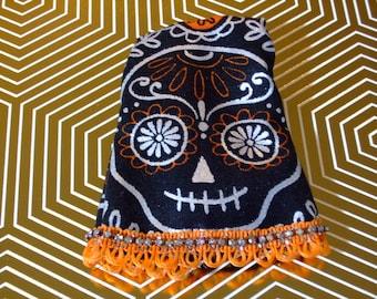 Blythe Doll Dress - Festive Sugar Skull
