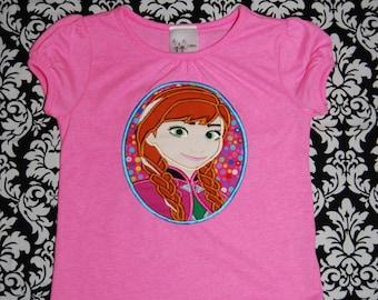Cameo Anna Applique custom shirt