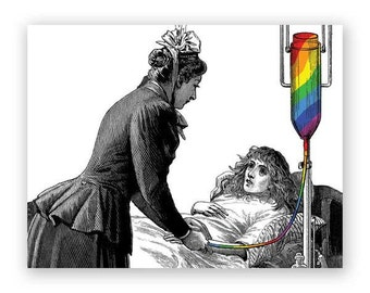 Rainbow Get Well Card