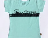 Organic S/S Aqua Pier T Shirt - 6 months to 12 years